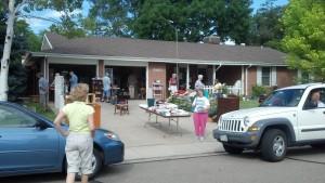 July garage sale