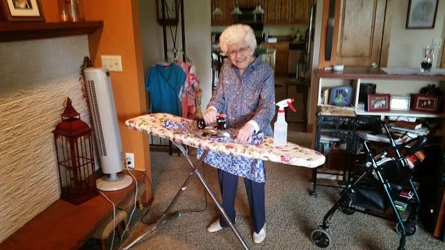 Vera Ironing-July 2015