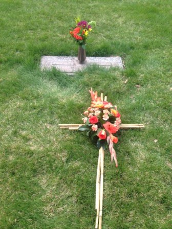 Vera gravesite